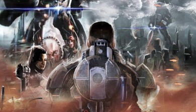 Mass Effect 3 Earth