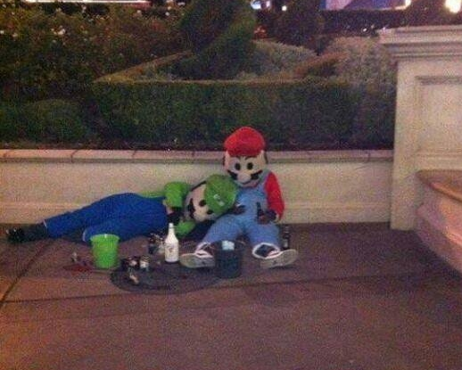 Mario Holiday Hangover